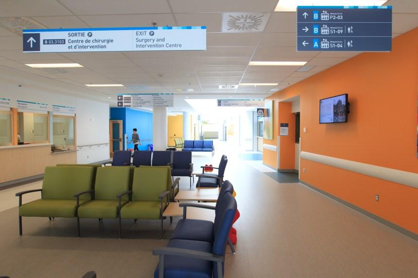 Changement drastique dans les salles d'opération de l'Hôpital de Montréal pour enfants