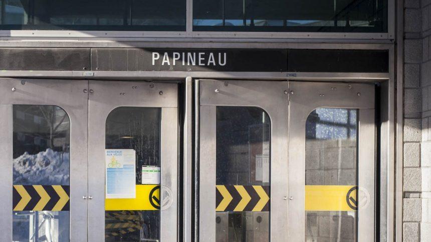 Réouverture de la station Papineau, «temporairement» fermée pour des travaux d'urgence