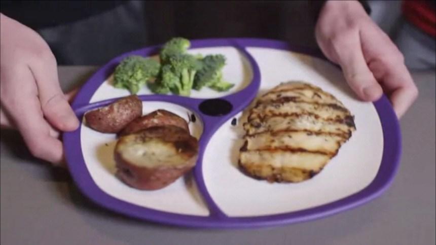 SmartPlate, l'assiette connectée nouvel outil des régimes