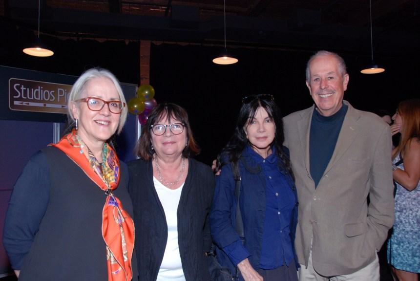 Denys Arcand et Carole Laure au 1er anniversaire de la Station Vu