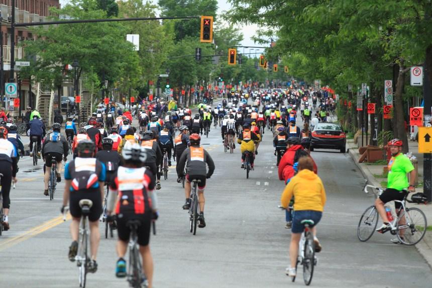 Début du Festival Go vélo de Montréal