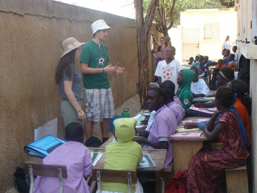 Un petit bout de Pierrefonds au Sénégal