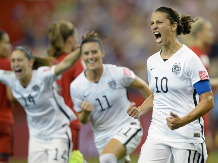 Les Américaines de retour en finale de la Coupe du monde