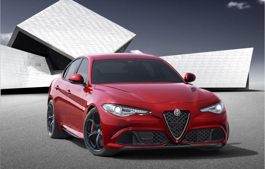 Une jolie berline pour Alfa Romeo: la Giulia