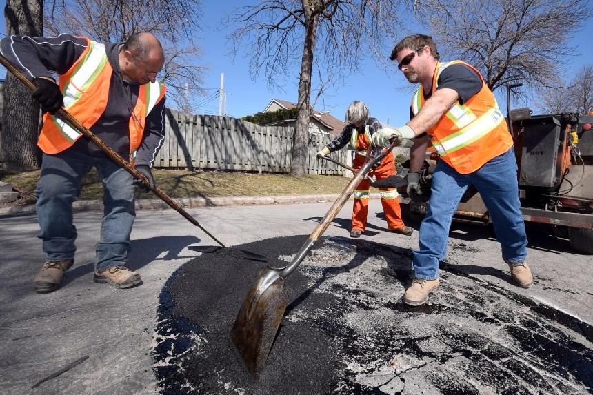 St-Léonard: 3,9 M$ pour réparer une quinzaine de rues
