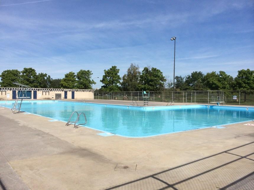 La piscine Jarry ouverte le matin