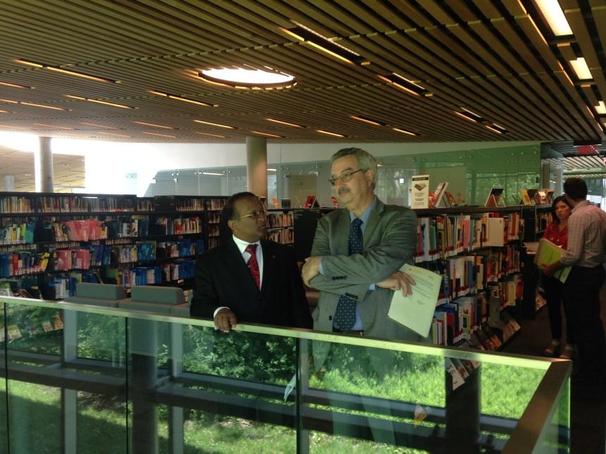 La bibliothèque la plus verte du Canada est à Saint-Laurent