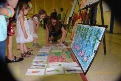 Claudia B. explique la démarche artistique