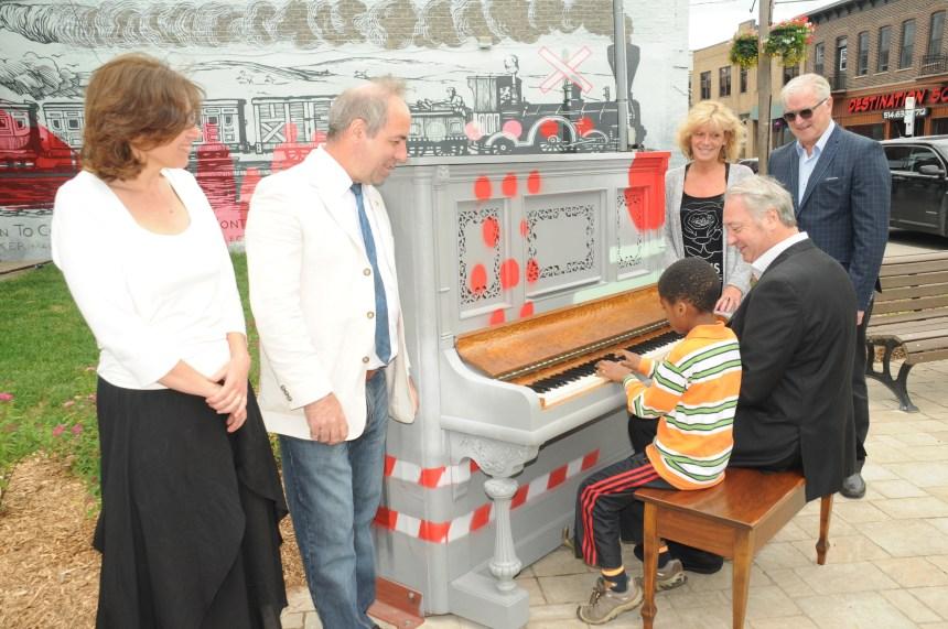 Un piano public à Lachine