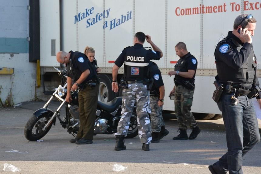 Un homme blessé dans un accident de moto
