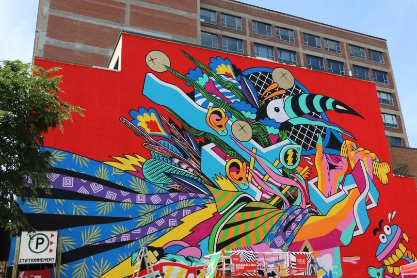 1,15 million de visiteurs au Festival Mural