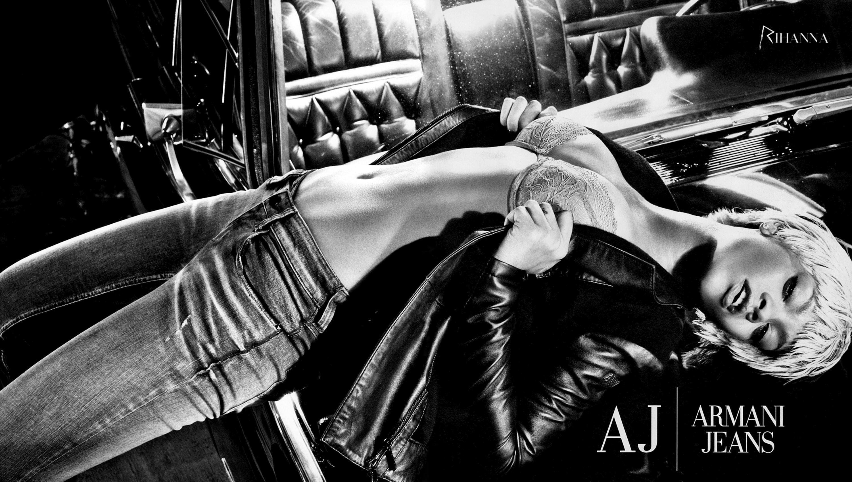 Rihanna - Armani Jeans F/W 2011