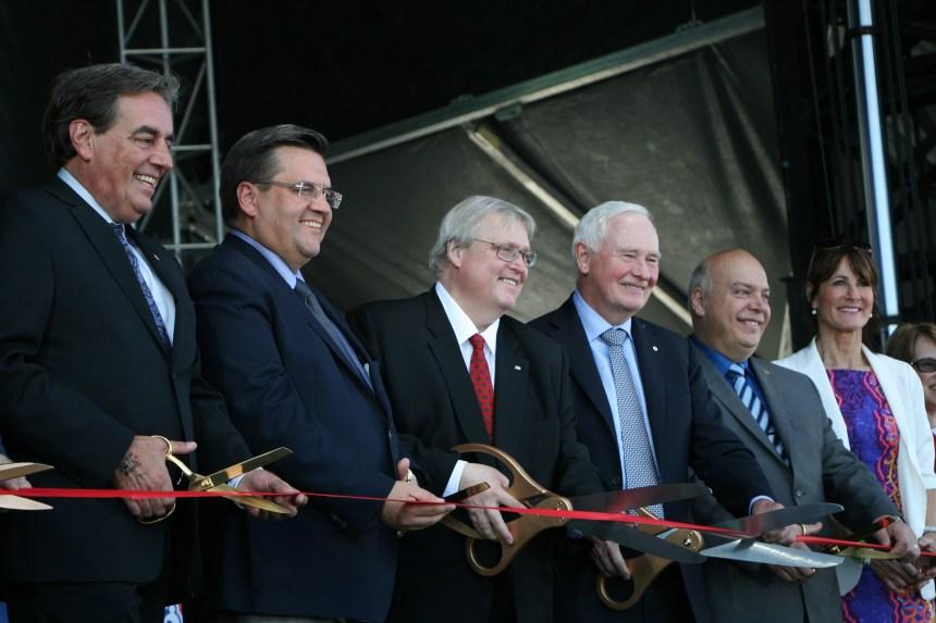 Le site Glen du CUSM est officiellement ouvert