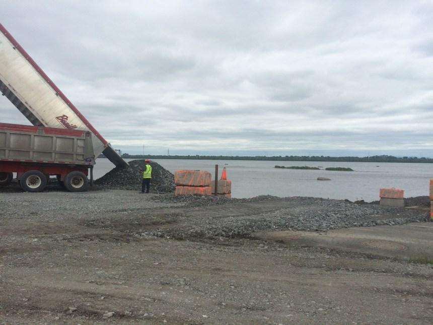 Nouveau pont Champlain: bilan positif pour la première semaine de construction