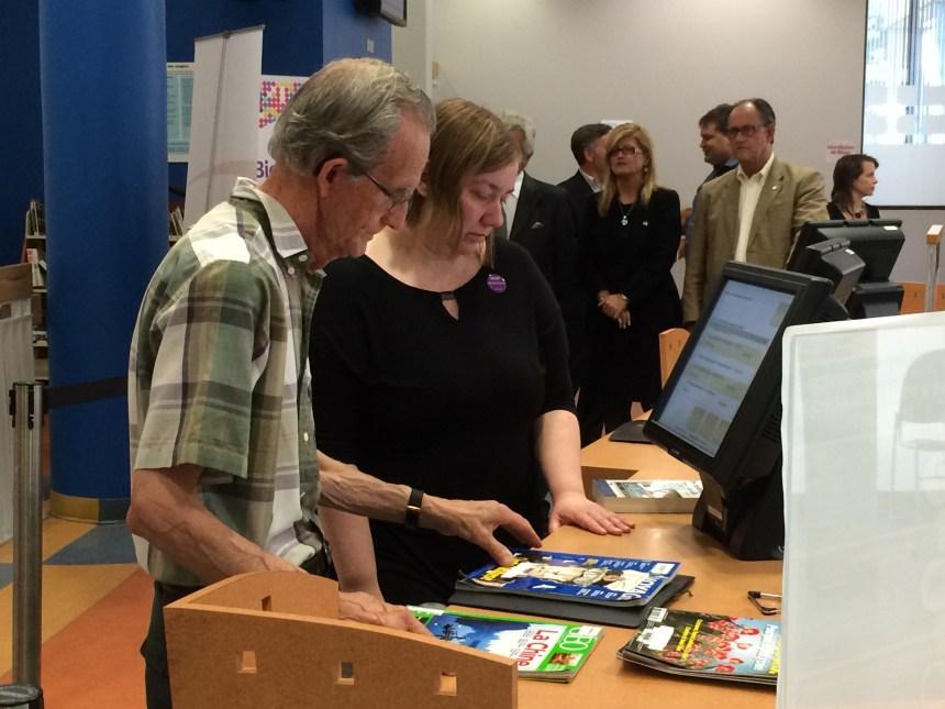 La bibliothèque Saint-Léonard se dote d'un nouveau système «intelligent»