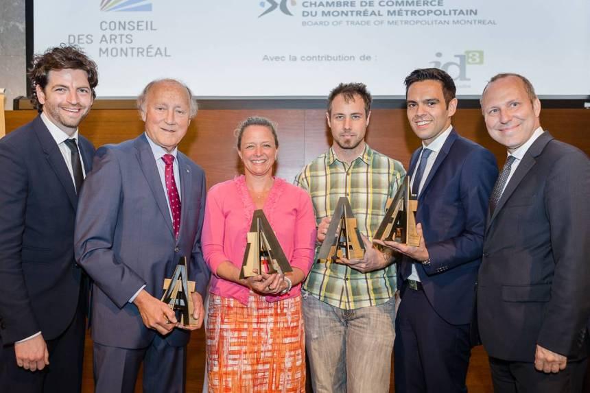 Prix Arts-Affaires: André Bourbeau de L'IDS récompensé