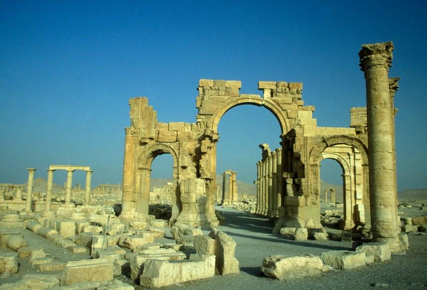 État islamique aurait miné la cité de Palmyre