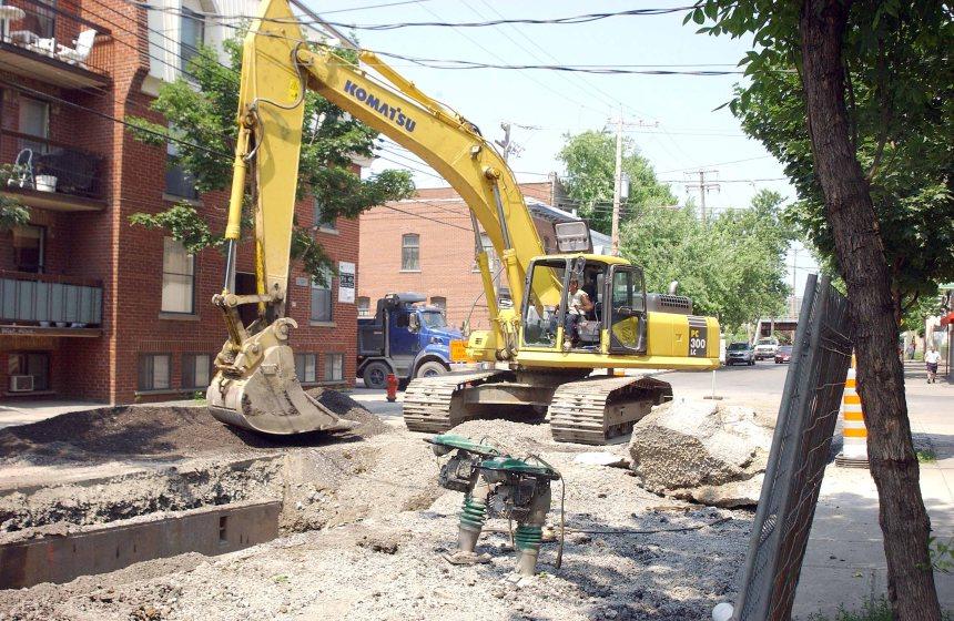 Motion pour améliorer l'aménagement des rues après des travaux de voiries