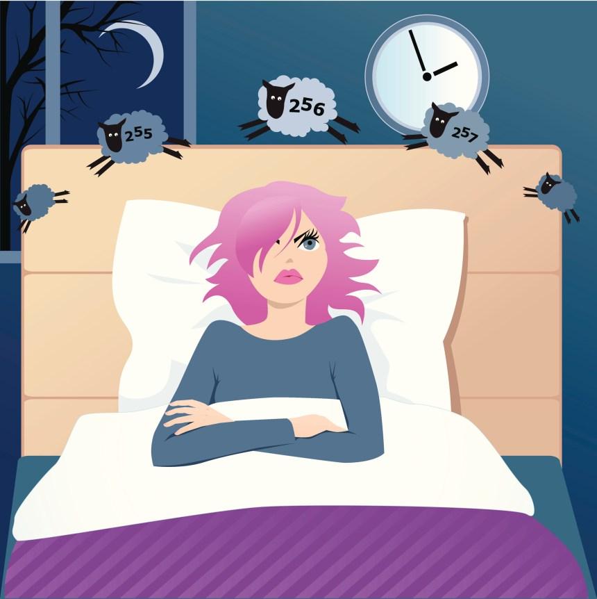 Le cauchemar de l'insomnie
