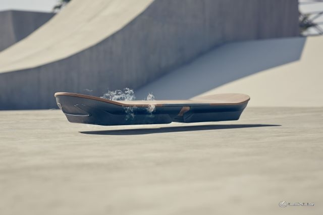 L'Hoverboard selon Lexus