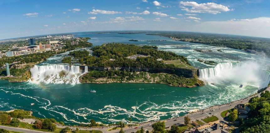 Ma première journée à Niagara Falls