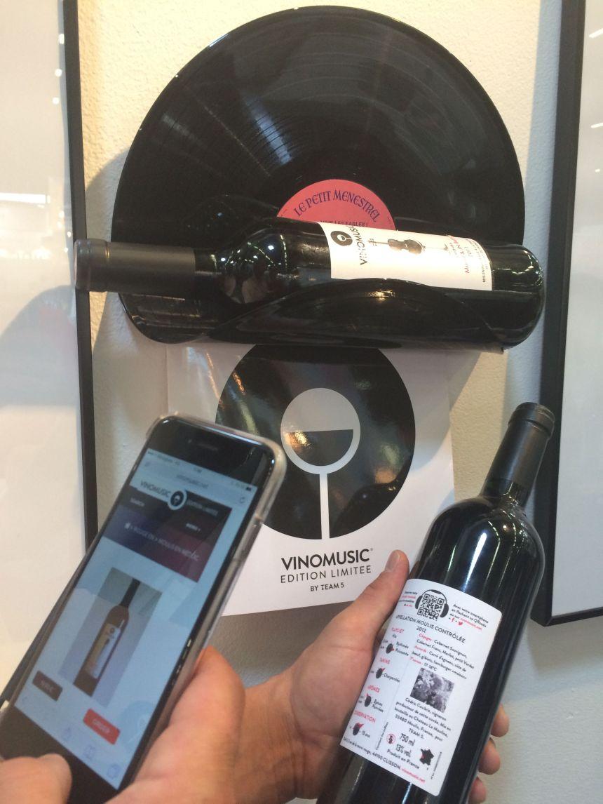 Vinomusic, des vins à déguster en fonction d'une liste de lecture musicale