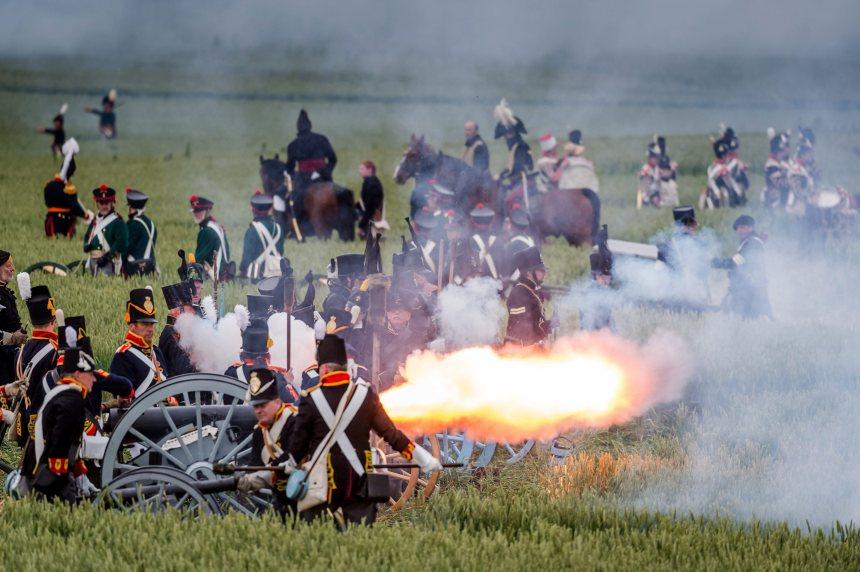 En images: 200e anniversaire de la bataille de Waterloo