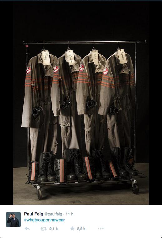 Les uniformes de «Ghostbusters 3» dévoilés