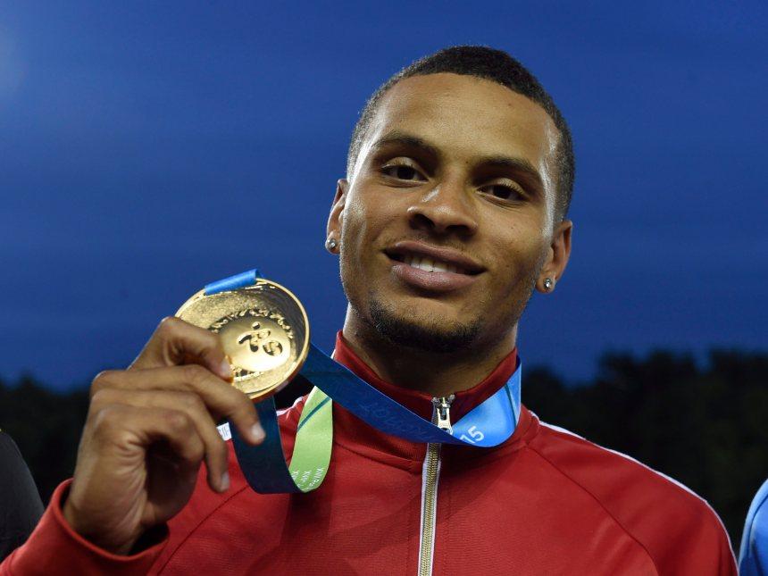 Panam: une autre médaille d'or pour De Grasse