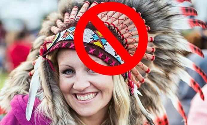 Osheaga bannit les coiffes de plumes