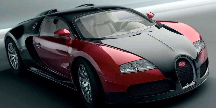 La première Veyron produite à l'encan