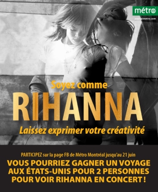 Concours Rihanna