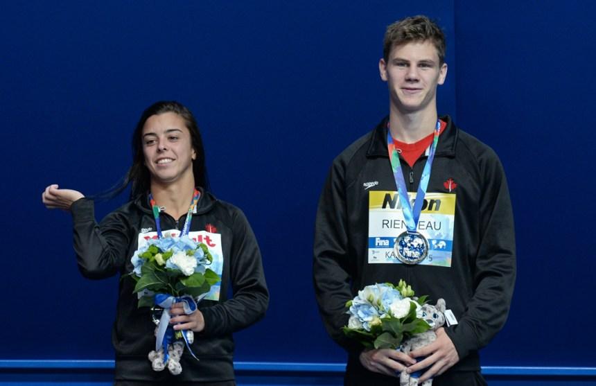 Championnats du monde de plongeon: l'argent pour Benfeito