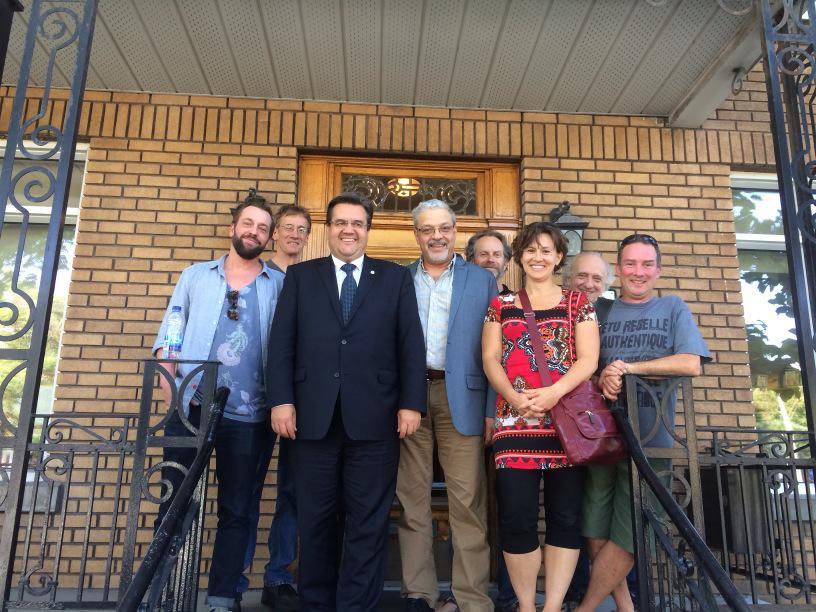 Petit Laurier: le maire Coderre appuie les citoyens