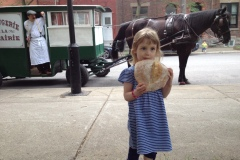 Du pain livré à domicile… à cheval