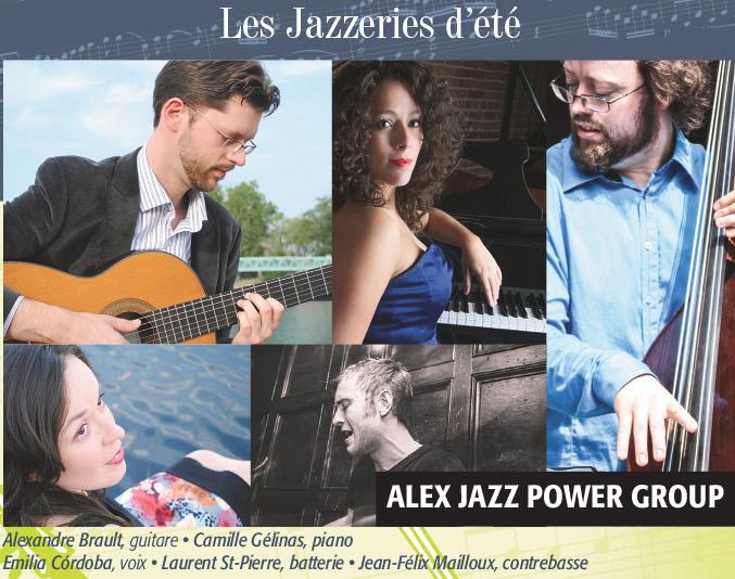Mercredis en musique: Alex Jazz Power Group de retour à Verdun