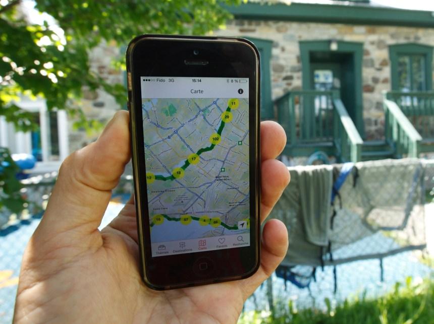 Des applications mobiles sur le patrimoine montréalais