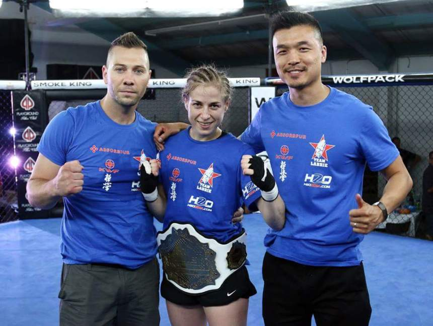 Une LaSalloise championne en arts martiaux mixtes