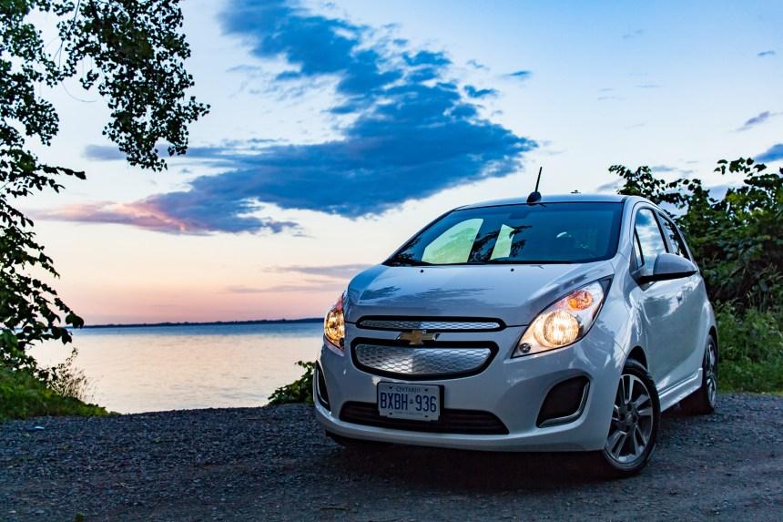 Chevrolet Spark EV 2015: le courant passe