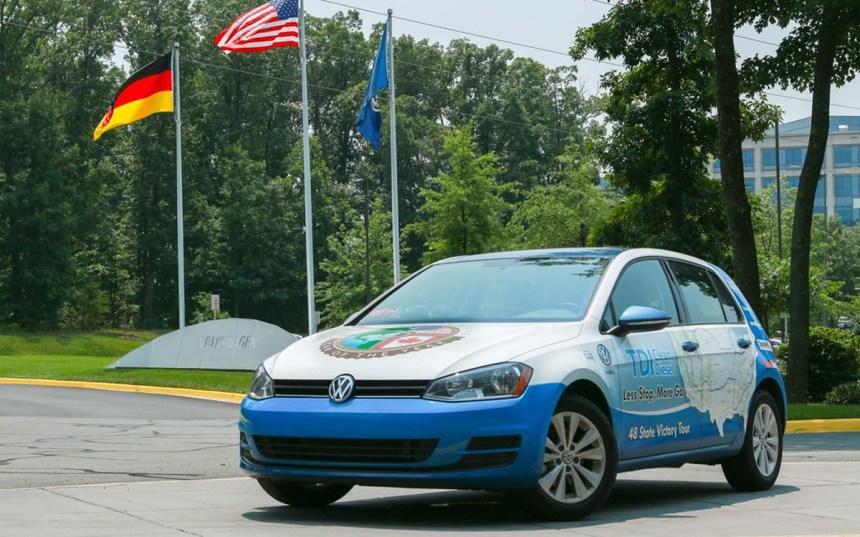 Volkswagen bat un record de consommation
