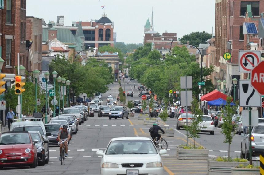 Volonté d'améliorer les déplacements à vélo et à pied à Outremont