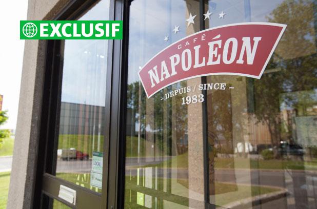 Café Napoléon gagne le gros lot