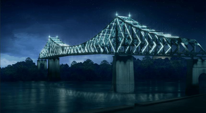 Le pont Jacques-Cartier illuminé pour les 10 prochaines années