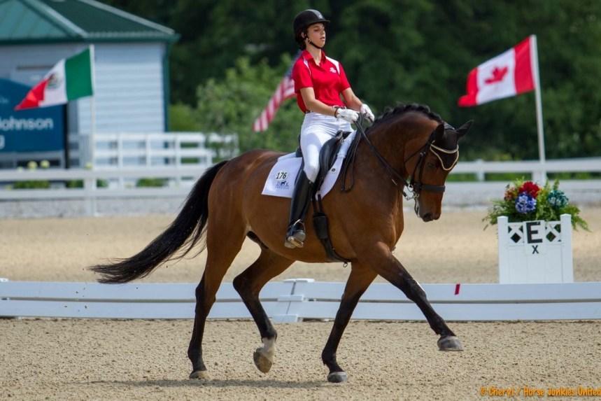 Une Outremontaise aux Championnats nord-américains pour Junior et Jeune Cavalier