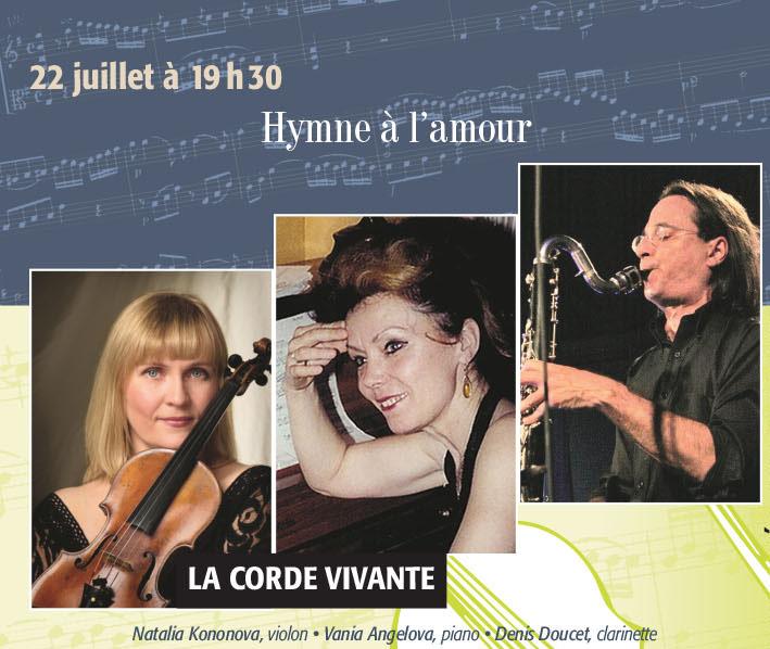 La Corde Vivante: hymne à l'amour