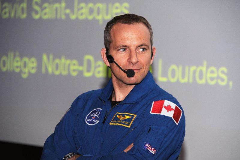David Saint-Jacques bientôt dans l'espace