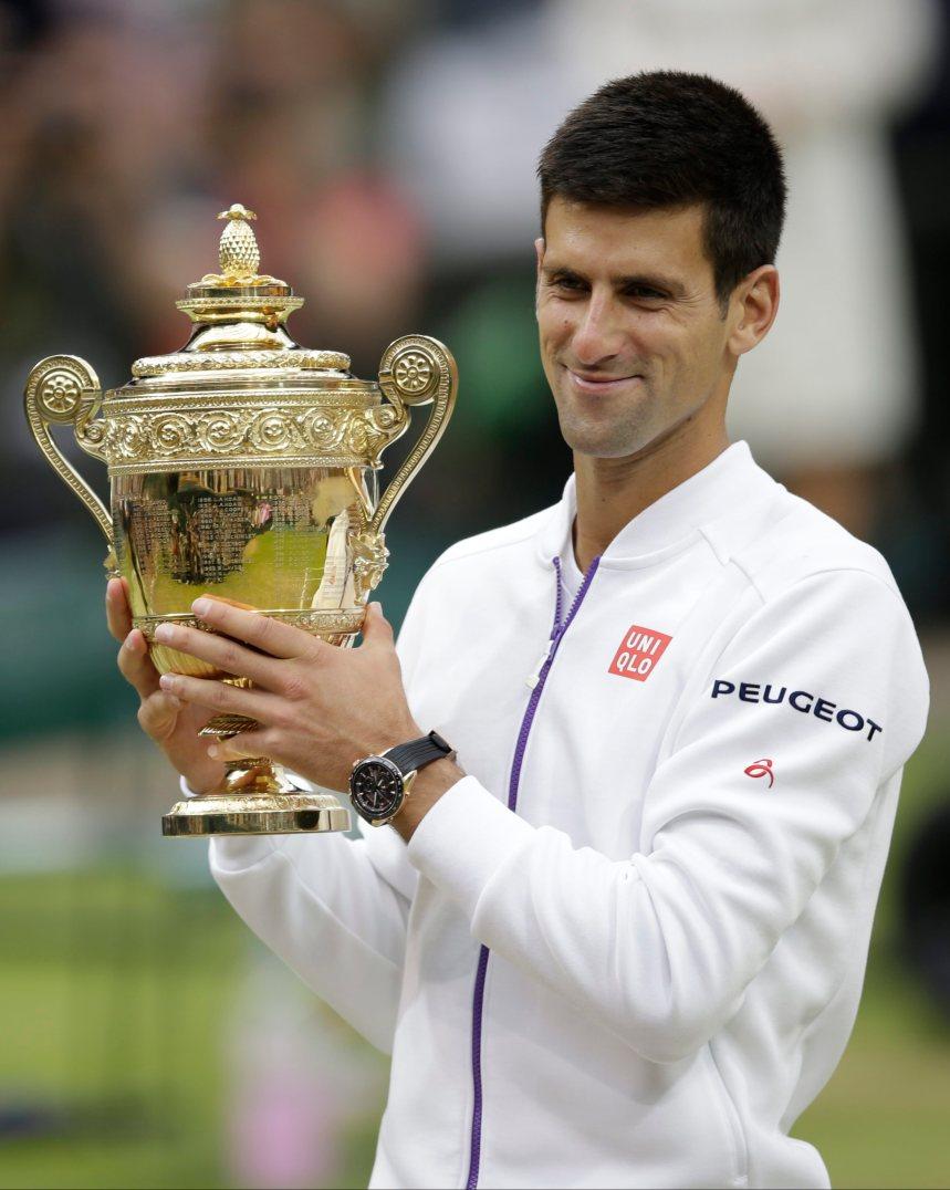 Djokovic bat Federer à Wimbledon