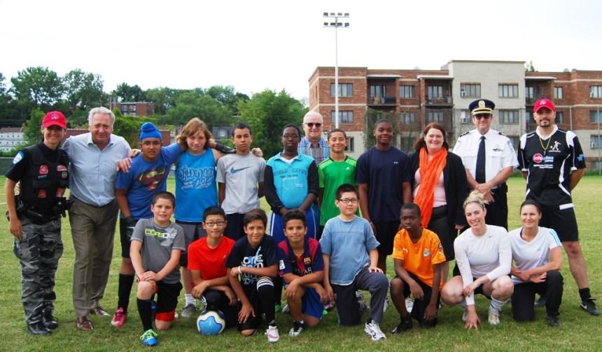 Une équipe de Lachine au Mondial de soccer