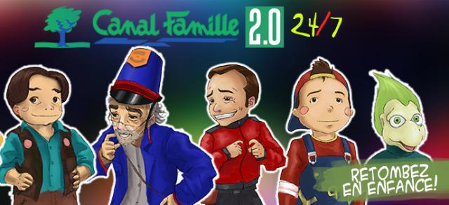 Canal Famille 2.0 – un projet à découvrir