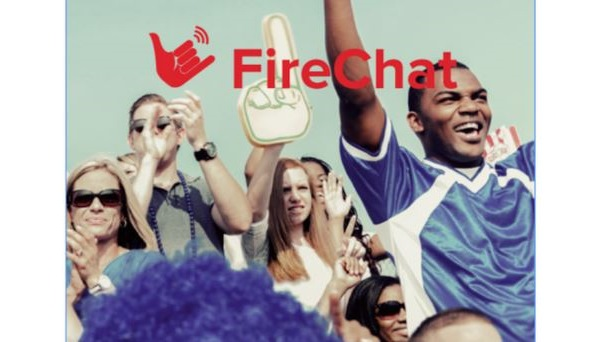 FireChat : une appli pour clavarder pendant la révolution (ou à Osheaga)
